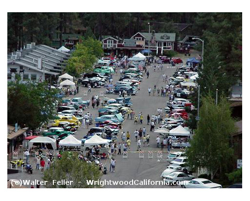 Wrightwood car show